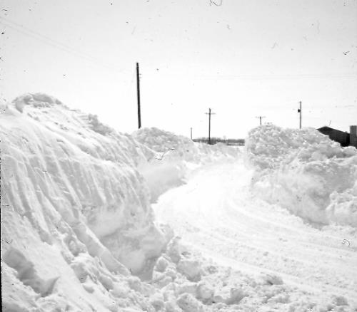 Blizzard of 65'  - Intersection of Chan View and Laredo Drive