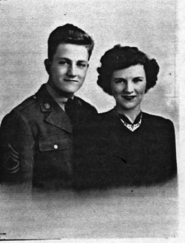 LaMont and Rita Boegeman - married in 1943