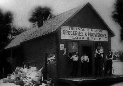 Trutnau and Mason Groceries and Provisions Flour and Feed - circa 1901-1905