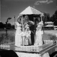 Chanhassen Civic Theatre Float for Frontier Days parade - 1975