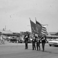 Frontier Days parade on Main Street -  1970