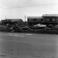 Tornado damage on Main Street - May 6, 1965