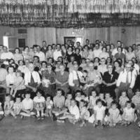 Kerber family reunion held at Riviera Supper Club (1954 or 1955)