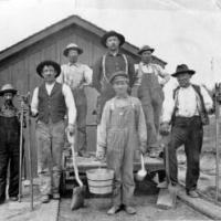Railroad workers - circa 1904