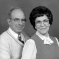 Harold and Leona (Kelzer) Kerber's 40th anniversary in 1985