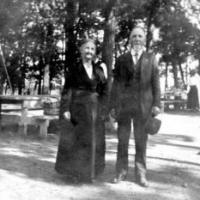 Mrs. Aspden and her brother, John Wood