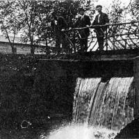 Waterfall at Mudcura - circa unknown