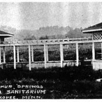 Sulpher Springs - Mudcura Sanitarium located in Shakopee, MN