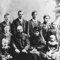 Peter John and Margaret (Schmidt) Decker Family - circa 1900