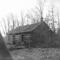 First school house in Carver County - 1855