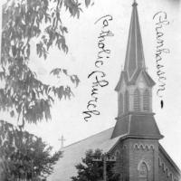 St. Hubert's Church in 1909.
