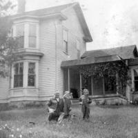 L.G. and Blanch (Sampson) Lawson homestead - circa unknown