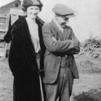 Blanch (Sampson) and husband L.G. Lawson - circa unknown