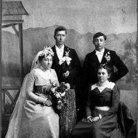 Brose wedding portrait - 1898