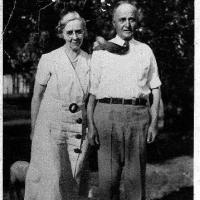 Arthur B. and Evelyn Lyman - circa unknown